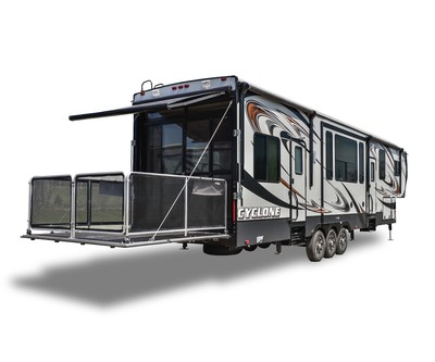 3 toy haulers for large families kansas rv center