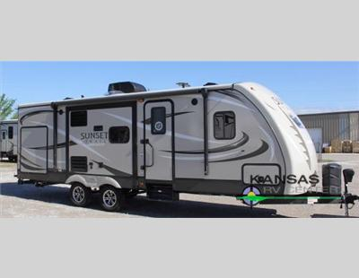 The Sunset Trail Travel Trailer