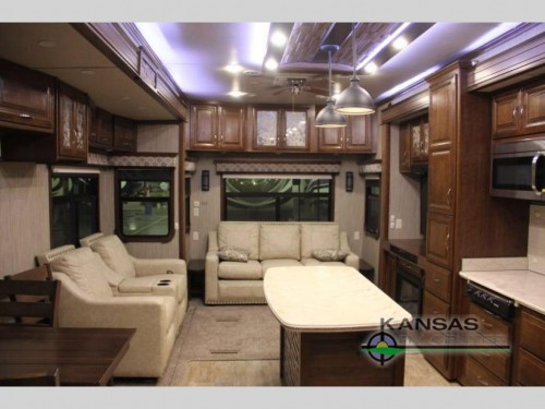 Mobile Suites Aire Fifth Wheel Interior